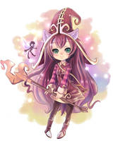 Lulu,The Fae Sorceress by Fuka-Enrique