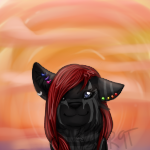 Destinee Look At The Sunset by redninetails