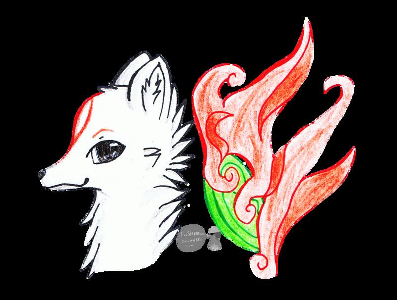 Okami Amaterasu by FoxStarrMoon
