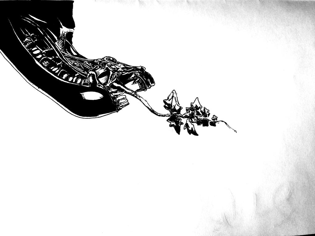 Alien by PitipoaH