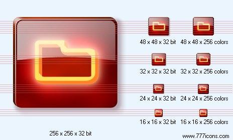 Folder Icon by dedumber