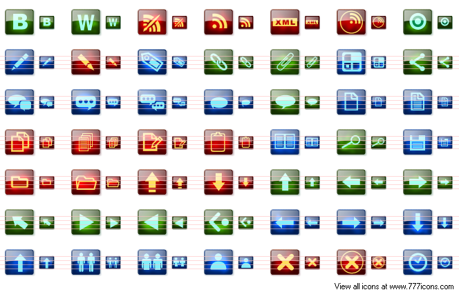 Blog Vista Icons by dedumber