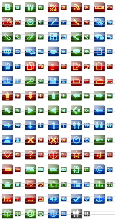 Blog Vista Icon Set by dedumber