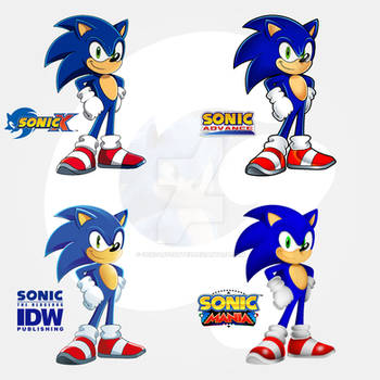 .:Sonic The Hedgehog Styles:.