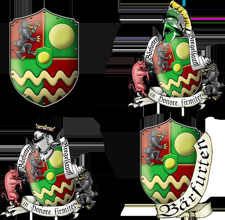 Wappen von Bregelsaum und Baerfurten by thomads3890