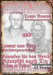 Notblatt Flyer Nemrod und vom Berg 2 von 3 by thomads3890