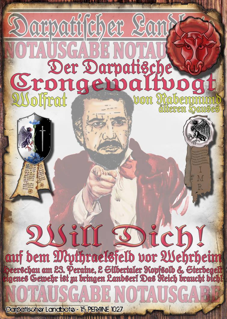 Notblatt Flyer Wolfrat 3 von 3 by thomads3890