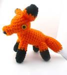 red fox amigurumi by e1fy
