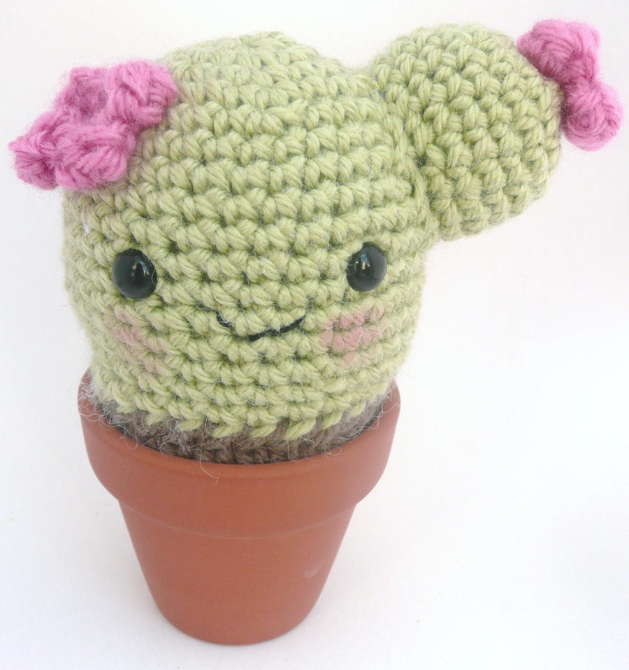 Amigurumi Cactus Crochet : cactus amigurumi 2 by e1fy on DeviantArt