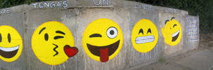 Have a nice day Street Art : ) by Johnny-Aza