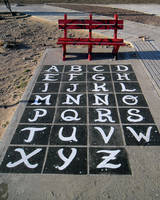 Abstract seat more Alphabet by Johnny-Aza
