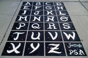 Special Alphabet by Johnny-Aza