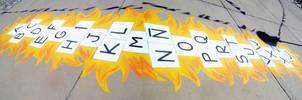 Hopscotch-Alphabet by Johnny-Aza