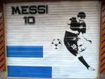 MESSI Street Art