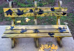 Seat painted / Invested Autumn by Johnny-Aza