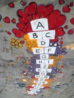 Special Hopscotch-Alphabet with a lot of help 1/4