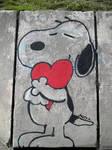 Snoopy Street Art / ADOPTA - ADOPT