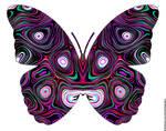 multi eyes butterfly