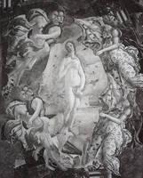 Collage de El nacimiento de Venus by Johnny-Aza