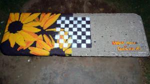 Street Art / special seat by Johnny-Aza