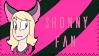 Shonny Fan Stamp by CircusShonny
