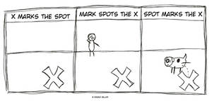 X Marks the Spot by FailureConfetti