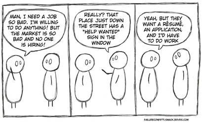 Job Search by FailureConfetti