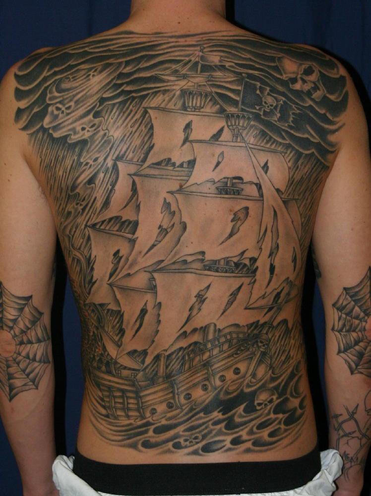 pirate ship tattoo. pirate ship tattoo. pirate