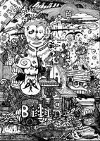 Mega Doodle No: 01 by bmkorkut