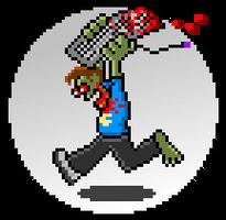 Zombie Pixel Mascot by bmkorkut