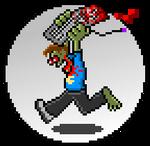 Zombie Pixel Mascot