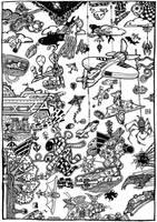 Mega Doodle No: 04 by bmkorkut