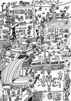 Mega Doodle No: 02 by bmkorkut