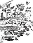 Mega Doodle No: 03 by bmkorkut