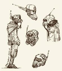 Masks by bmkorkut