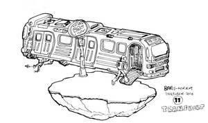 Inktober - Transport by bmkorkut