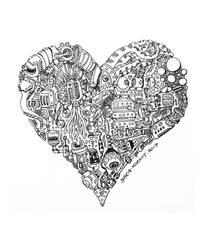 Ace of Hearts by bmkorkut