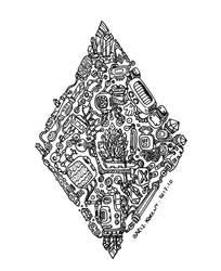 Ace of Diamonds by bmkorkut