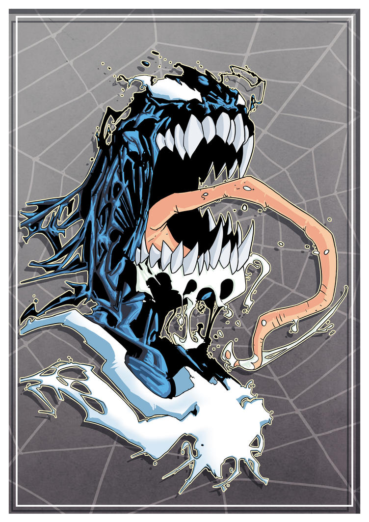 Venom_Tatoo_Colour_Study by elvis2nd