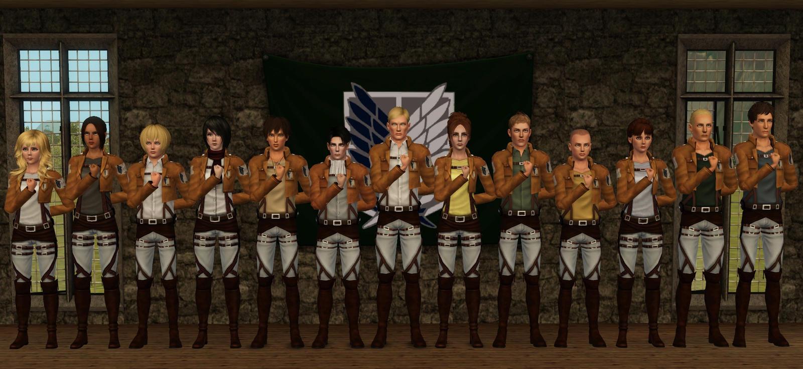 attack on titan corps - photo #20
