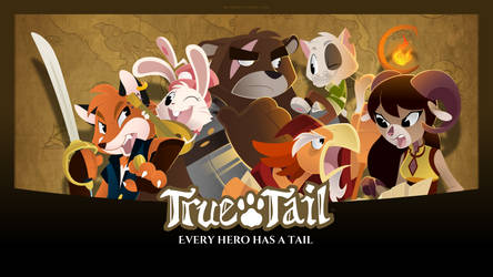 True Tail: Wallpaper 02 by SkynamicStudios