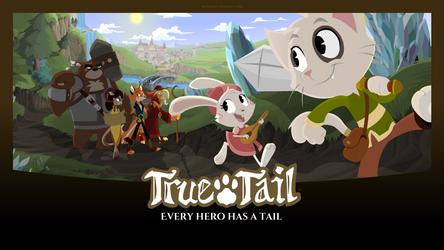True Tail: Wallpaper 04