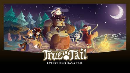 True Tail: Wallpaper 05 by SkynamicStudios