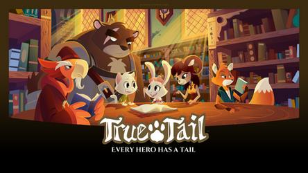 True Tail: Wallpaper 07 by SkynamicStudios