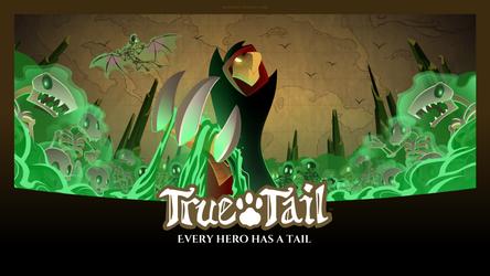 True Tail: Wallpaper 06
