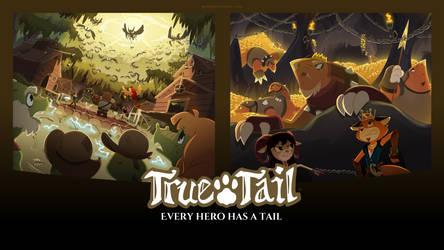 True Tail: Wallpaper 08