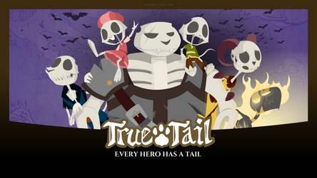 True Tail: Wallpaper 011