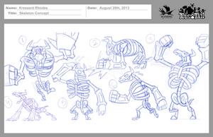 True Tail: Skeleton Concept 003