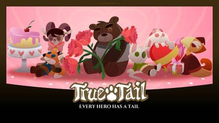 True Tail: Wallpaper 012