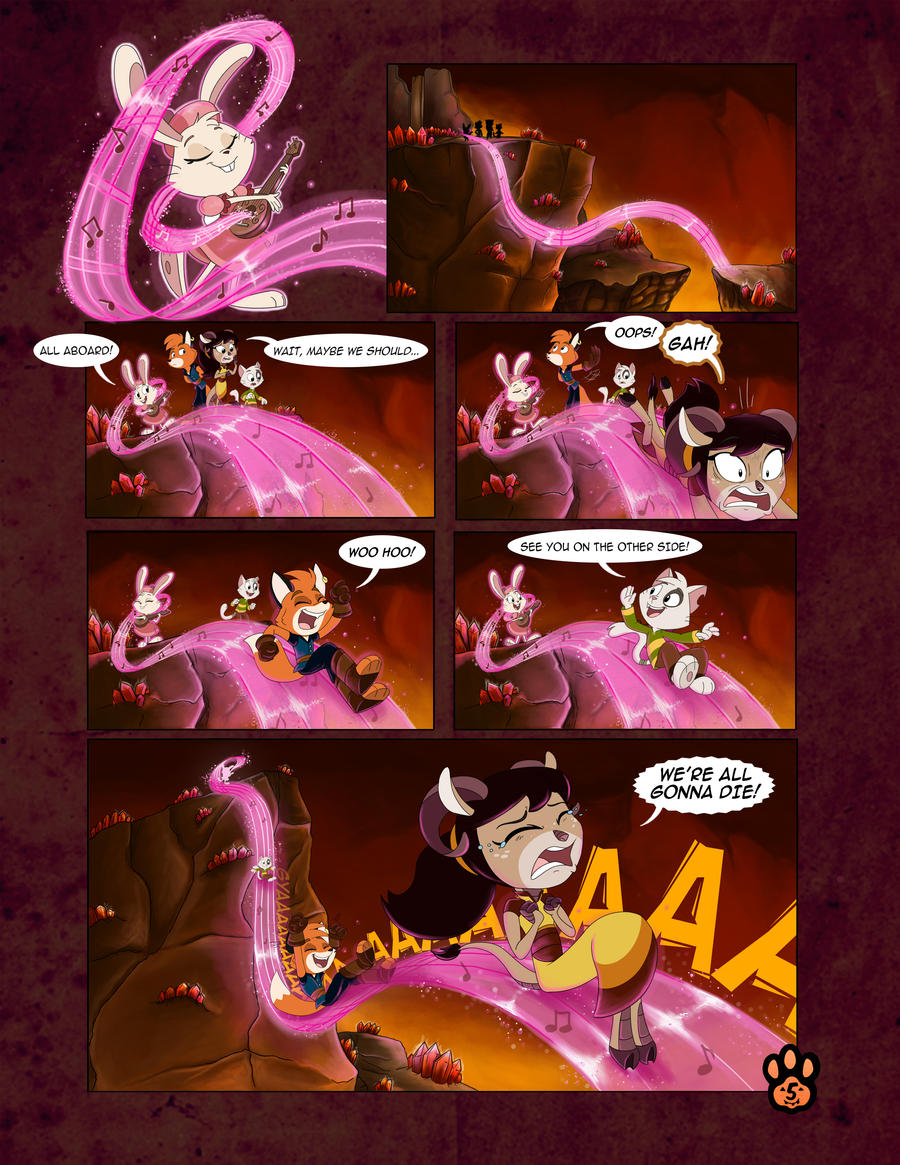 True Tail : One Halloween Night (Page 5 of 14)